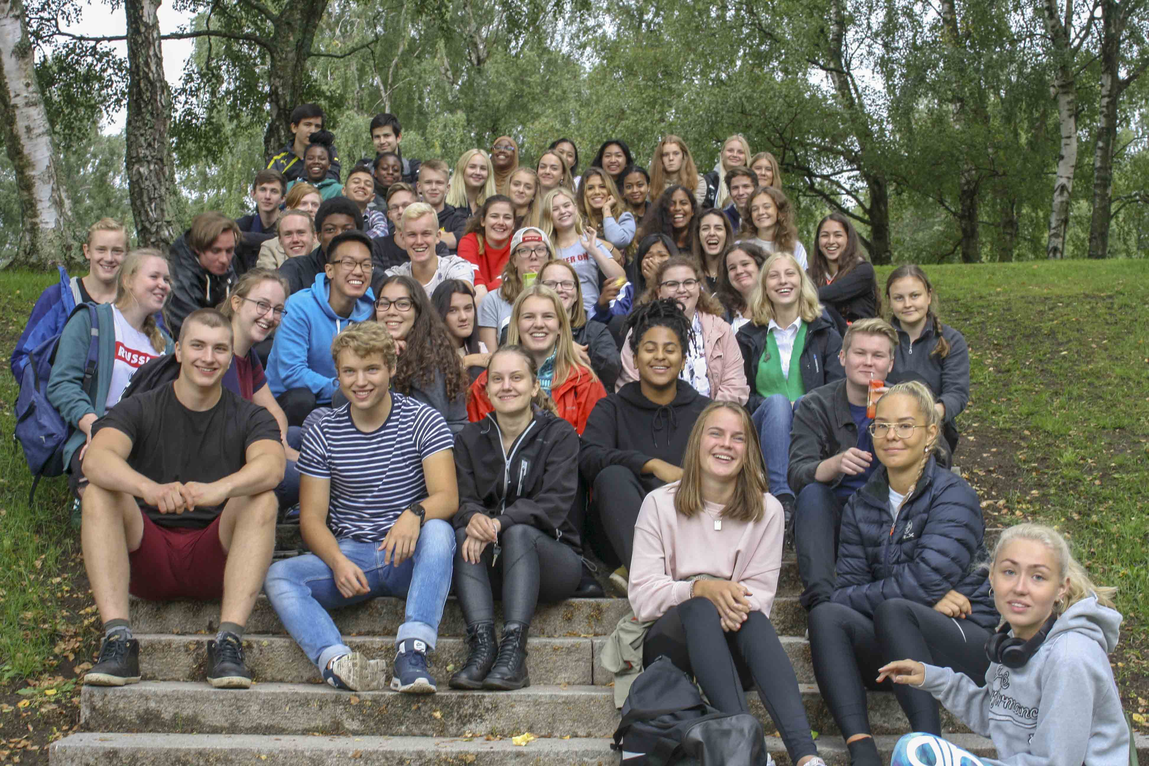 Our IB-groups at Brottet.