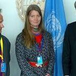 Josefina Skerk på FN:s Permanenta Forum för urfolk, 2016